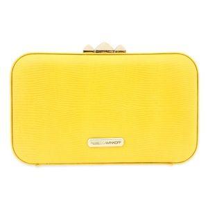 Rebecca Minkoff yellow Leather Clutch